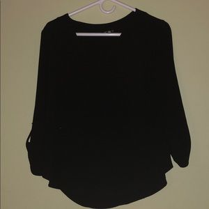 3/4 Black long sleeve
